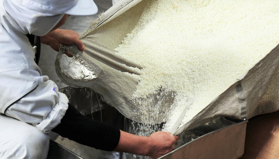 「沢の鶴 X02(エックスゼロツー)」の原料処理