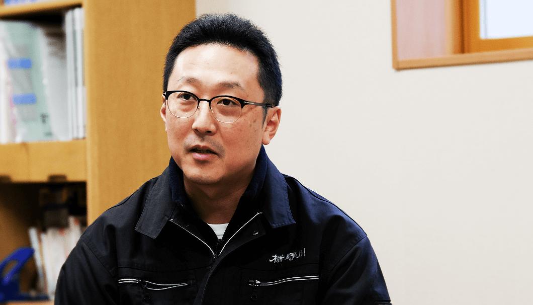 楯の川酒造 社長の佐藤淳平さん