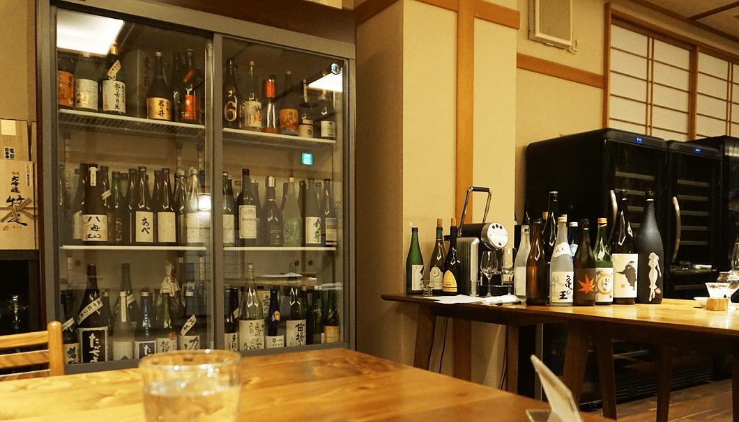 松之山温泉「酒の宿玉城屋」の日本酒専用冷蔵庫