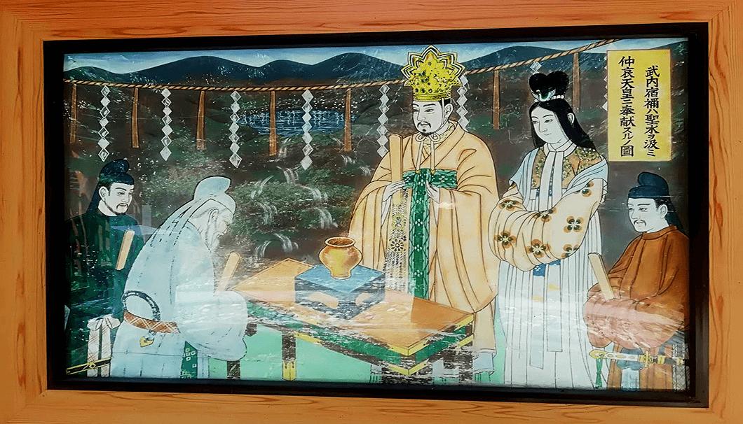 仲哀天皇の絵図