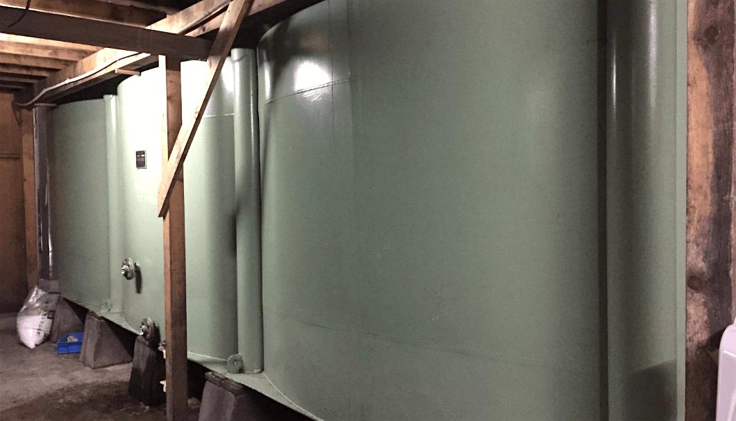 角タンクの写真