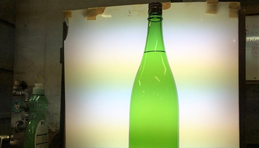 瓶詰め後のボトルの写真