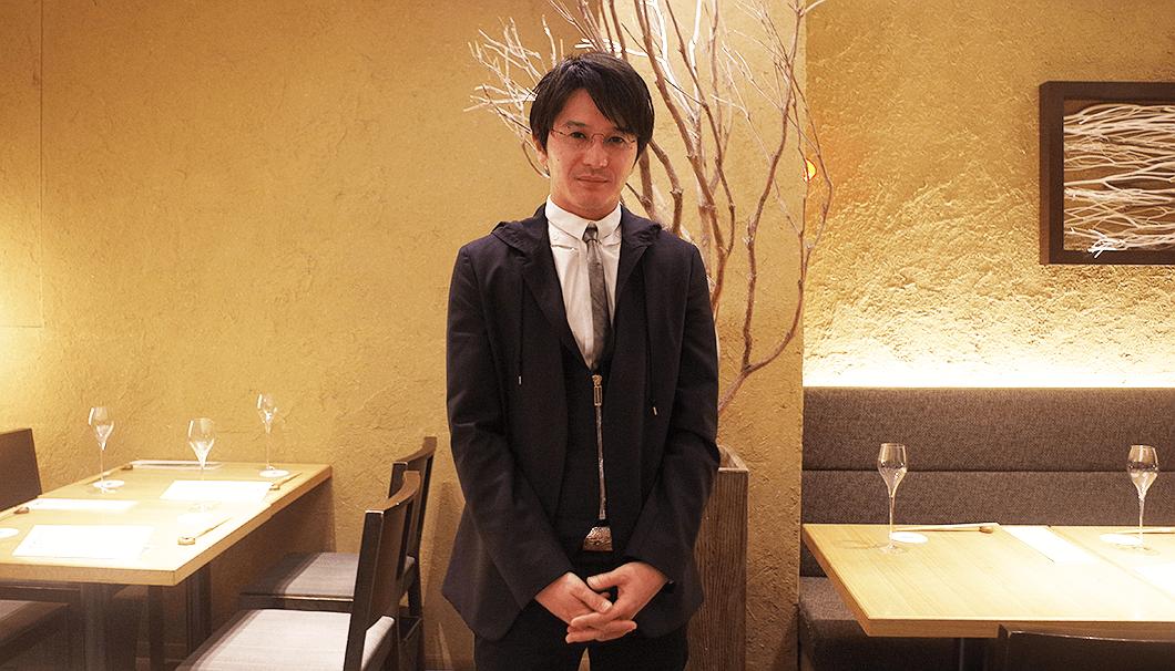 新政酒造の代表、佐藤祐輔さん