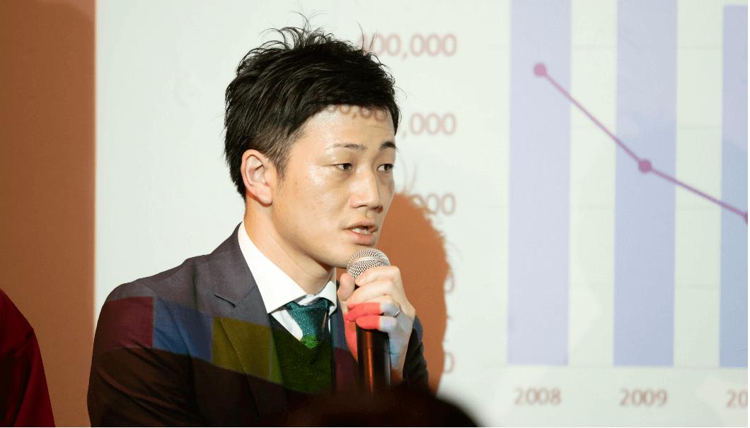 白鶴酒造の商品開発本部主任・佐田尚隆さん