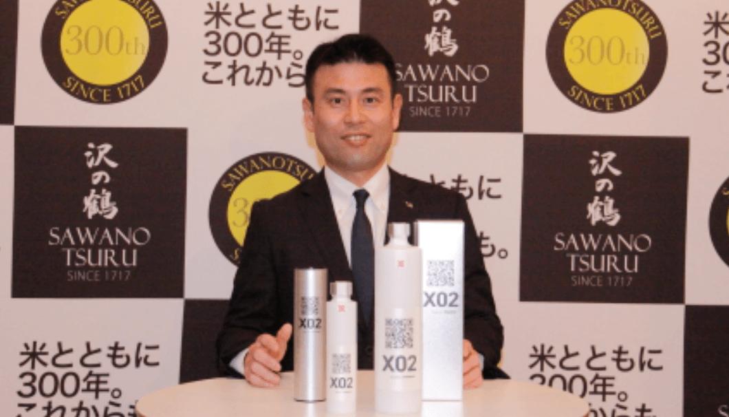 沢の鶴株式会社 代表取締役社長の西村隆氏