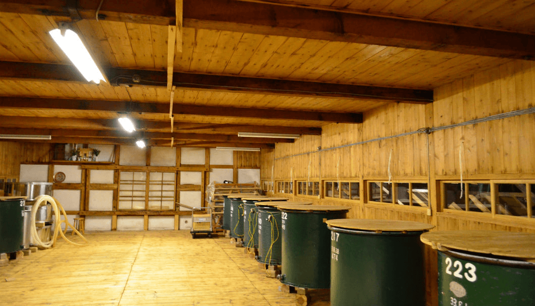 田中酒造店の酒母室