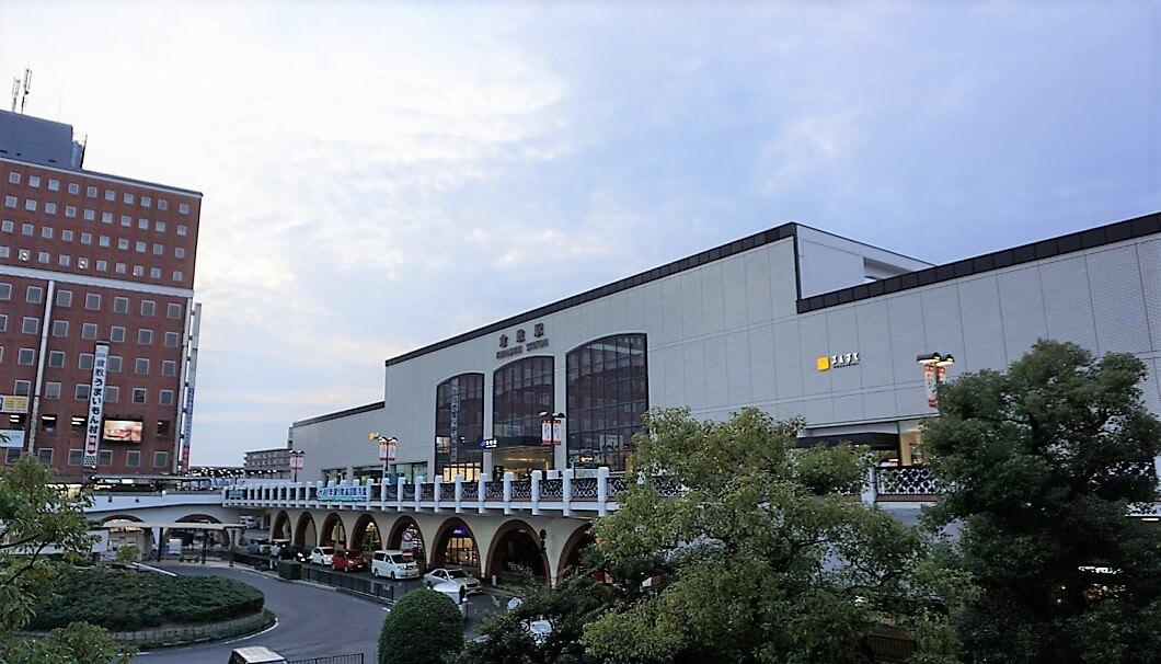 倉敷駅の外観写真