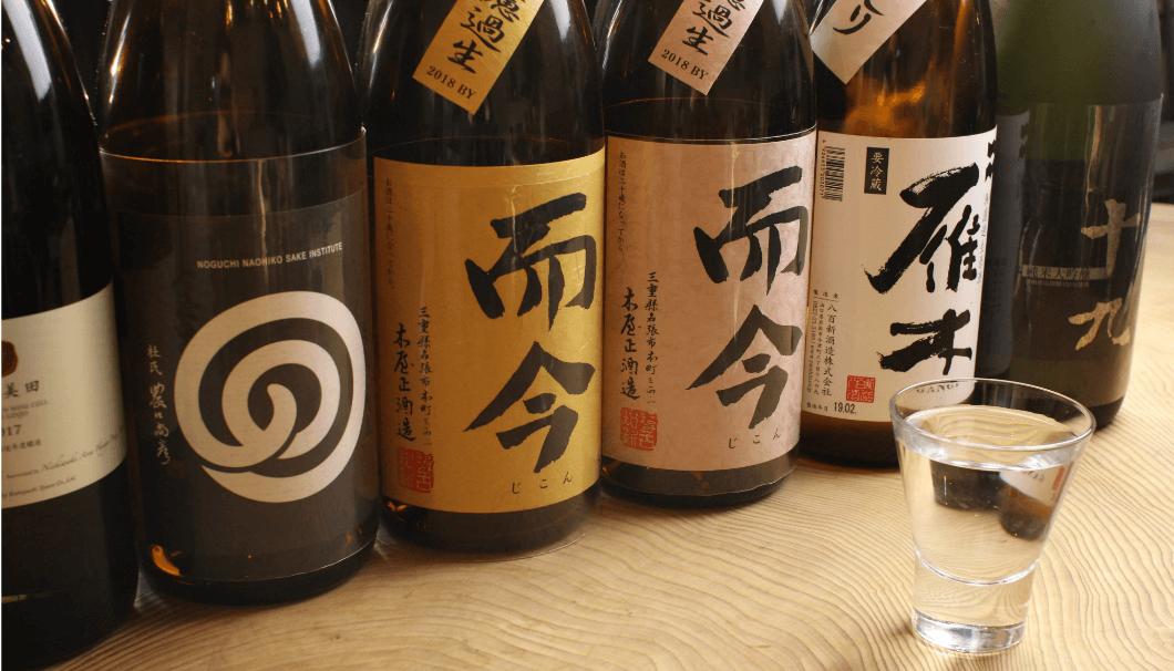 せんべろができる「呑りすけ」で提供している日本酒のイメージ写真