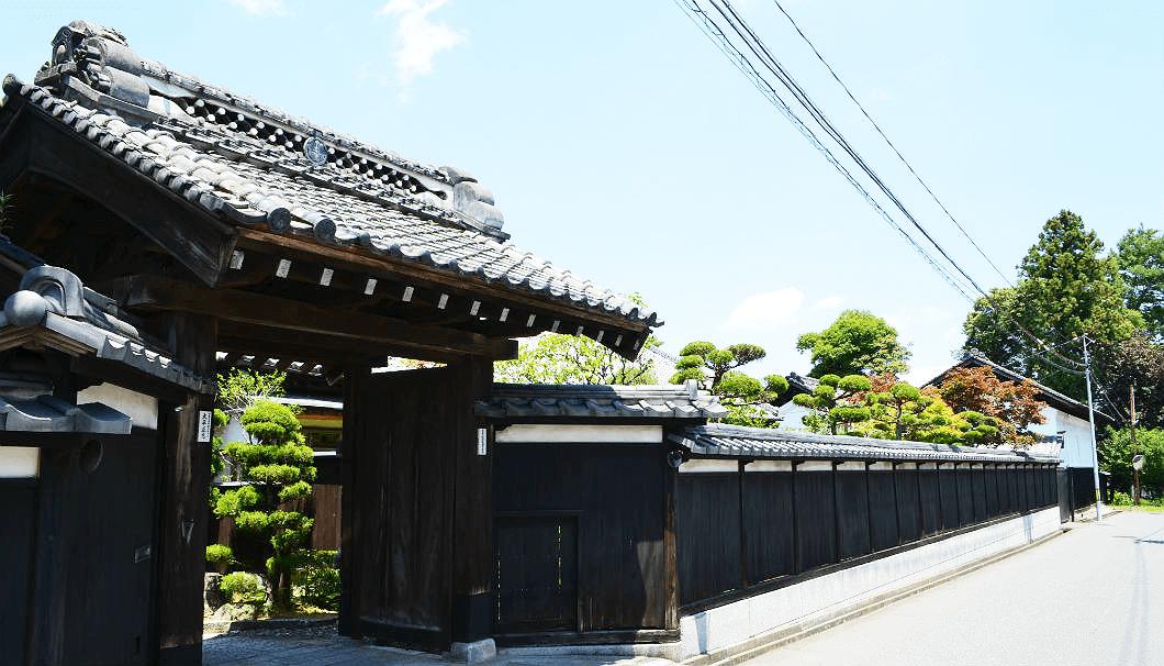 太平桜酒造の蔵外観