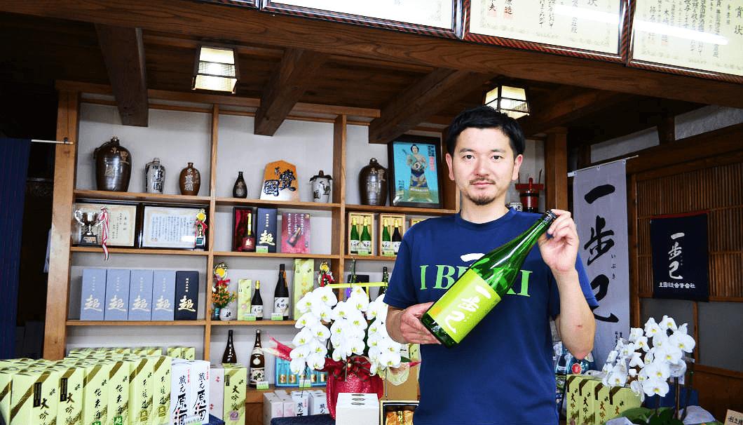 豊国酒造の9代目、矢内賢征さん