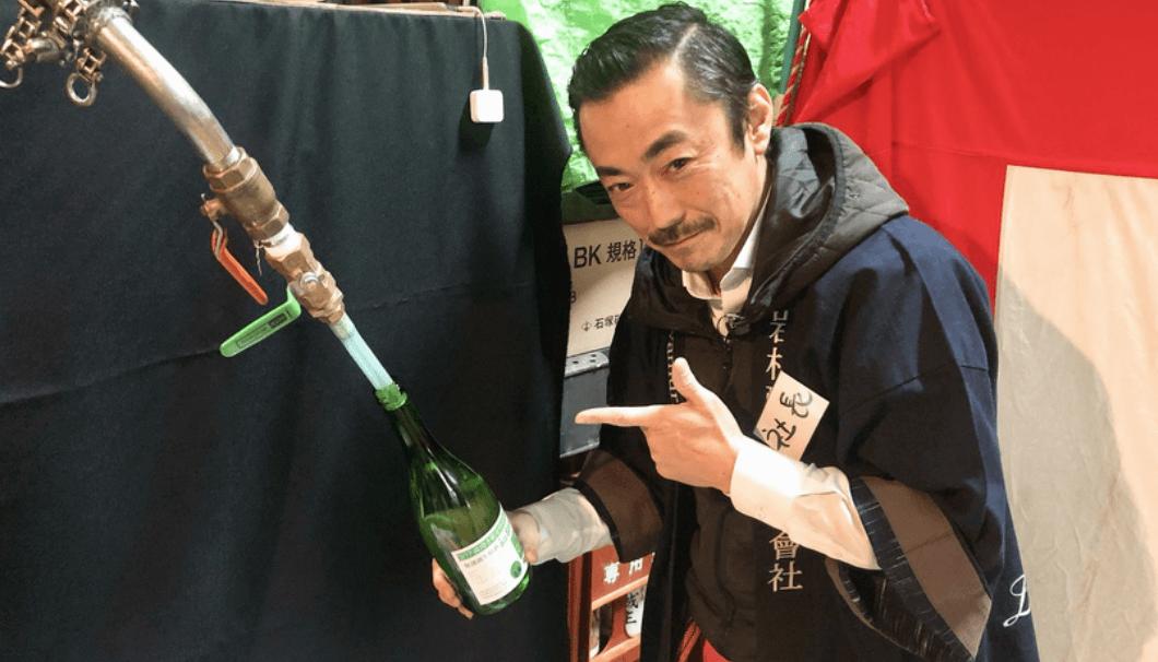 岩村醸造の渡會さん