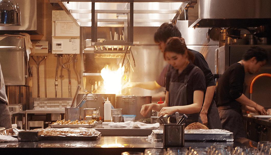 LA BONNE TABLEのキッチンスペース