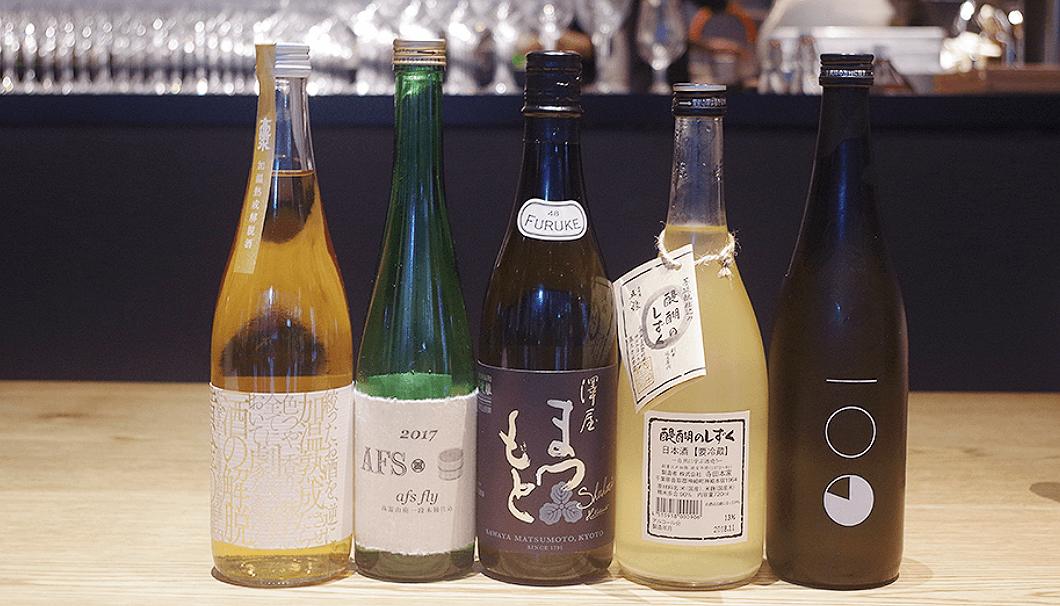 LA BONNE TABLEの3月の日本酒ラインナップ