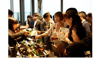 SAKE COMPETITION 2019」の授賞パーティーのイメージ画像