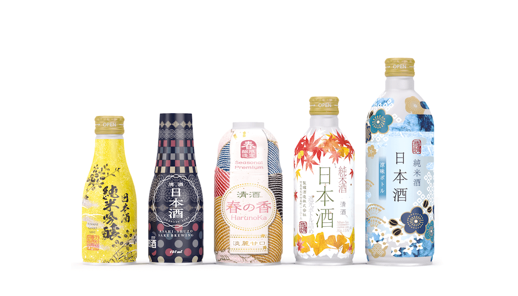 大和製罐のボトル缶日本酒