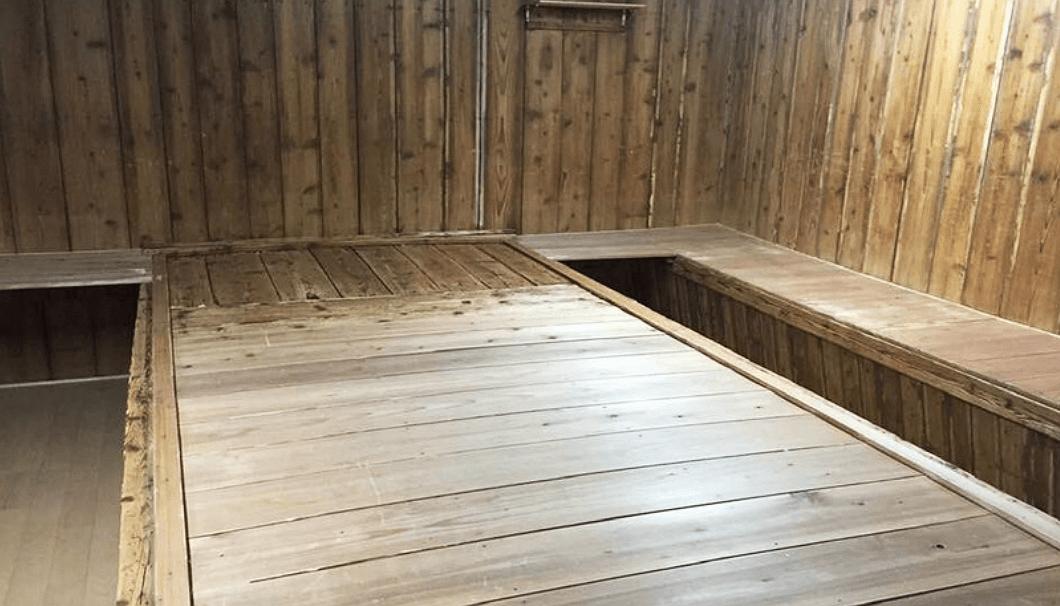 池月酒造の麹室