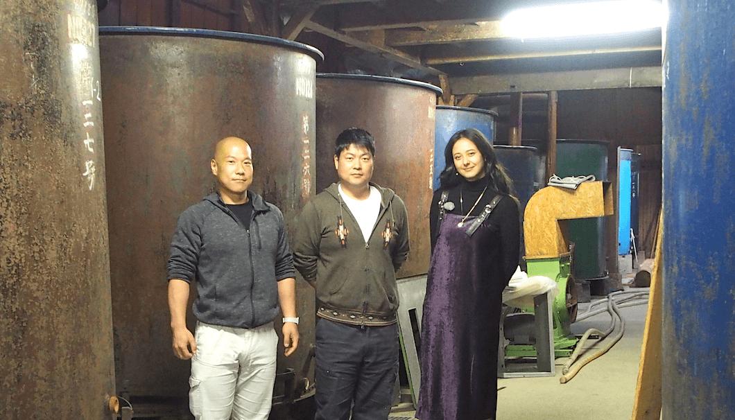 浦浜さんと大木英伸さんと大木裕史さん兄弟