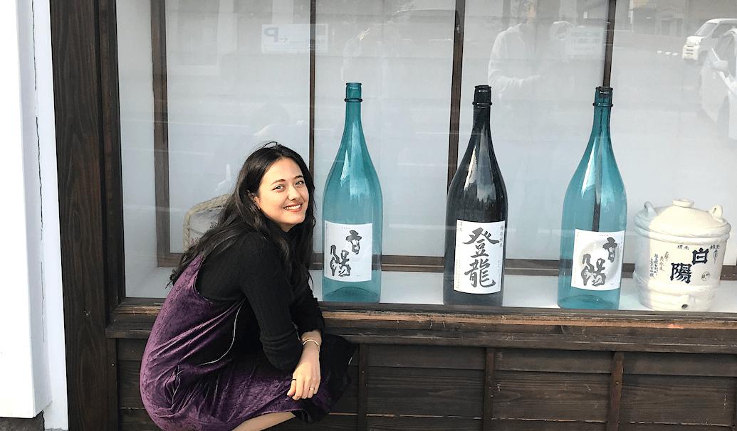 浦浜さんと大谷忠吉本店の外観