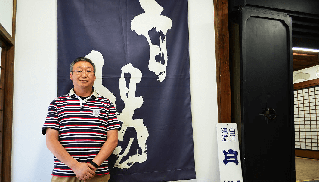 大谷忠吉本店・蔵元の大谷浩男さん