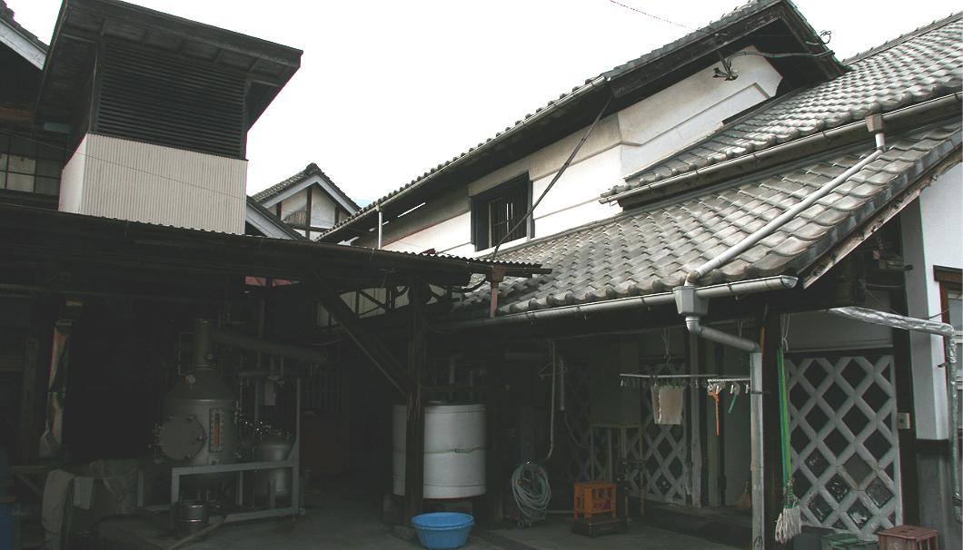 富士錦酒造の蔵外観