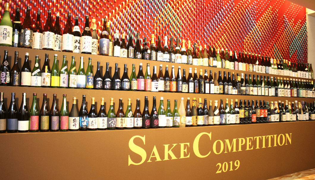 SAKE COMPETITIONのボトル