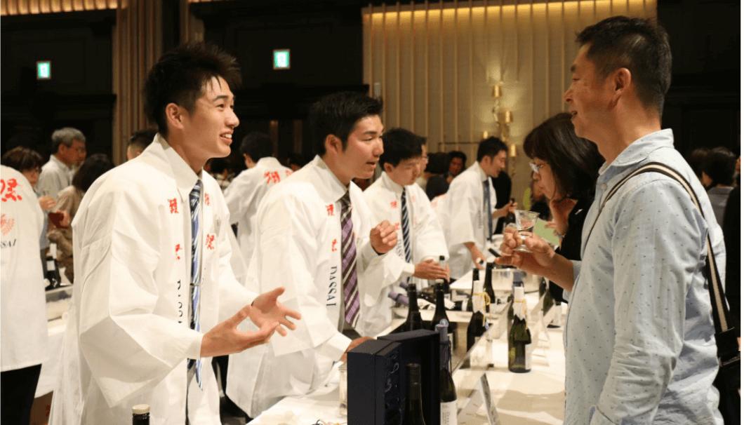 札幌で開催される獺祭のイベント風景イメージ画像