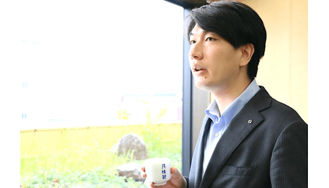 取締役営業副本部長の大倉泰治さん
