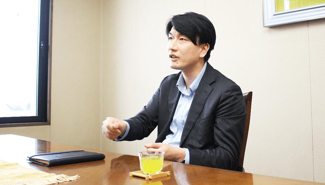 月桂冠 取締役営業副本部長の大倉泰治さん