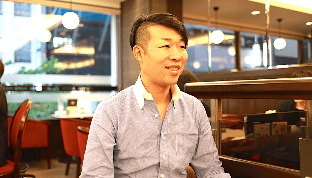 平和酒造の代表取締役社長・山本典正さん