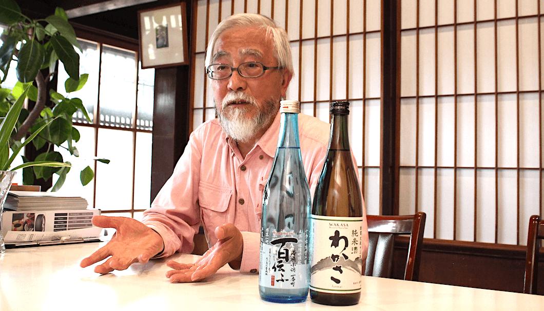小浜酒造 社長の吉岡洋一さん