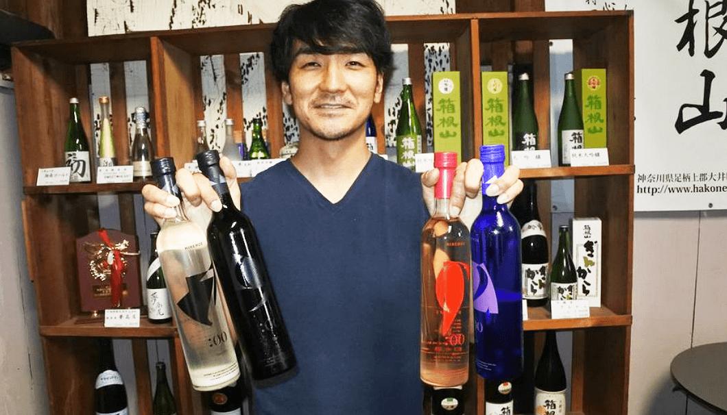 株式会社ライスワインの酒井優太社長