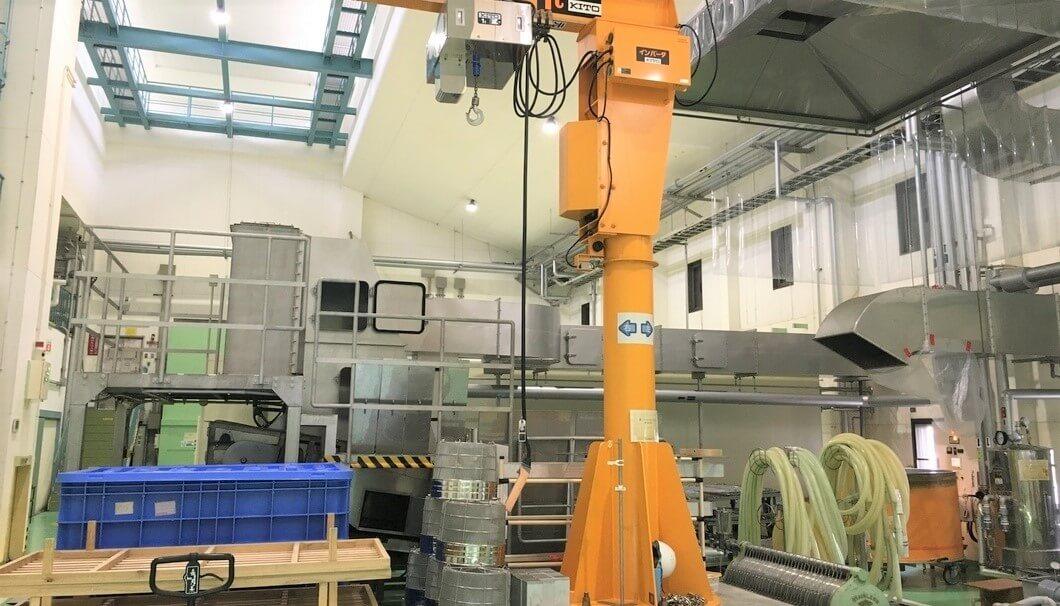 三和酒類株式会社の日本酒製造部門の蔵、虚空乃蔵の内観