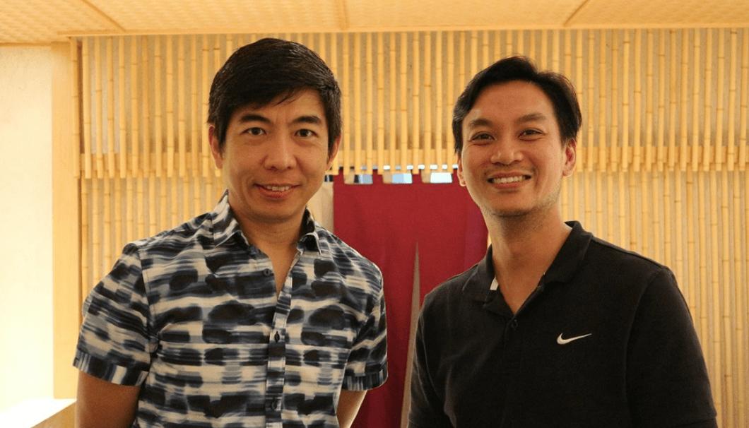 Simon Wongさん(左)とEugeneさん(右)