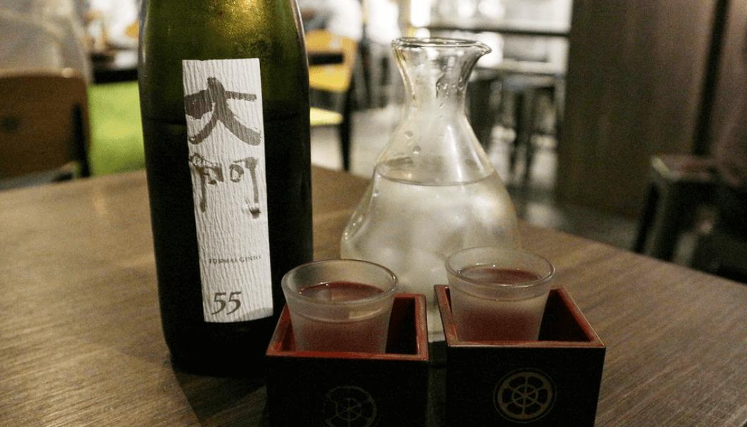 大阪の大門酒造、「Daimon55 純米吟醸」