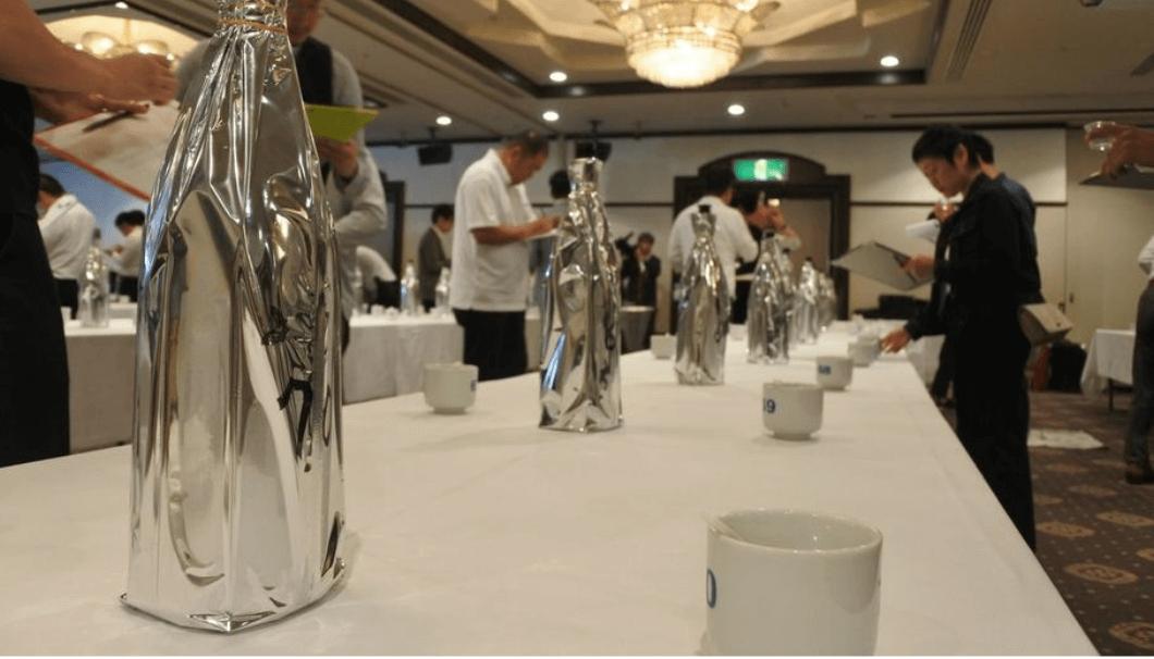 仙台日本酒サミット2019品評会の様子