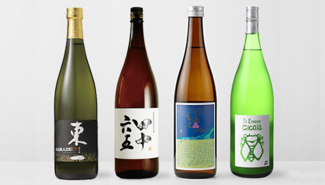 オリエンタルホテル福岡での日本酒イベントで提供される日本酒画像