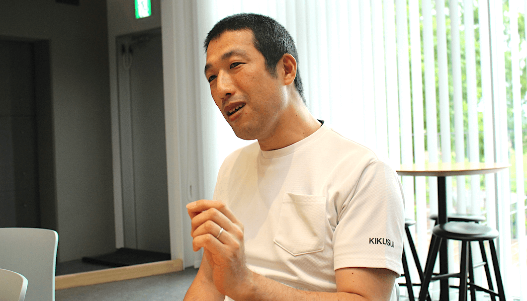生産部の伊藤淳さん