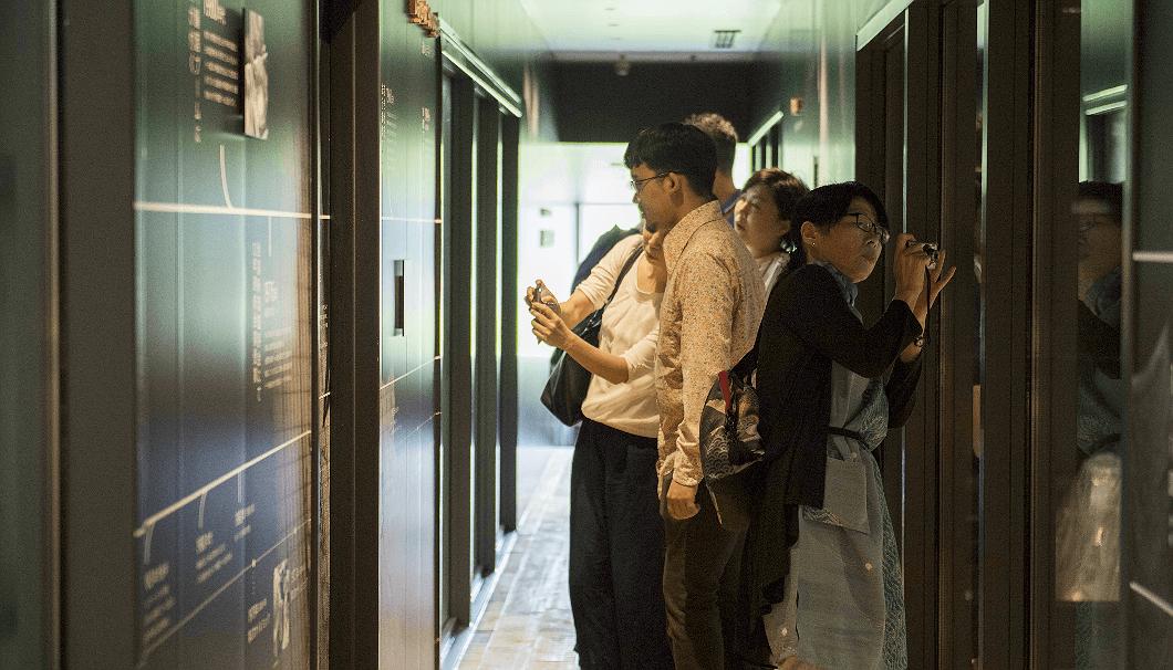 農口尚彦研究所の見学ルート