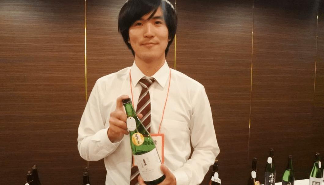 静岡平喜酒造の杜氏の戸塚堅二郎さん
