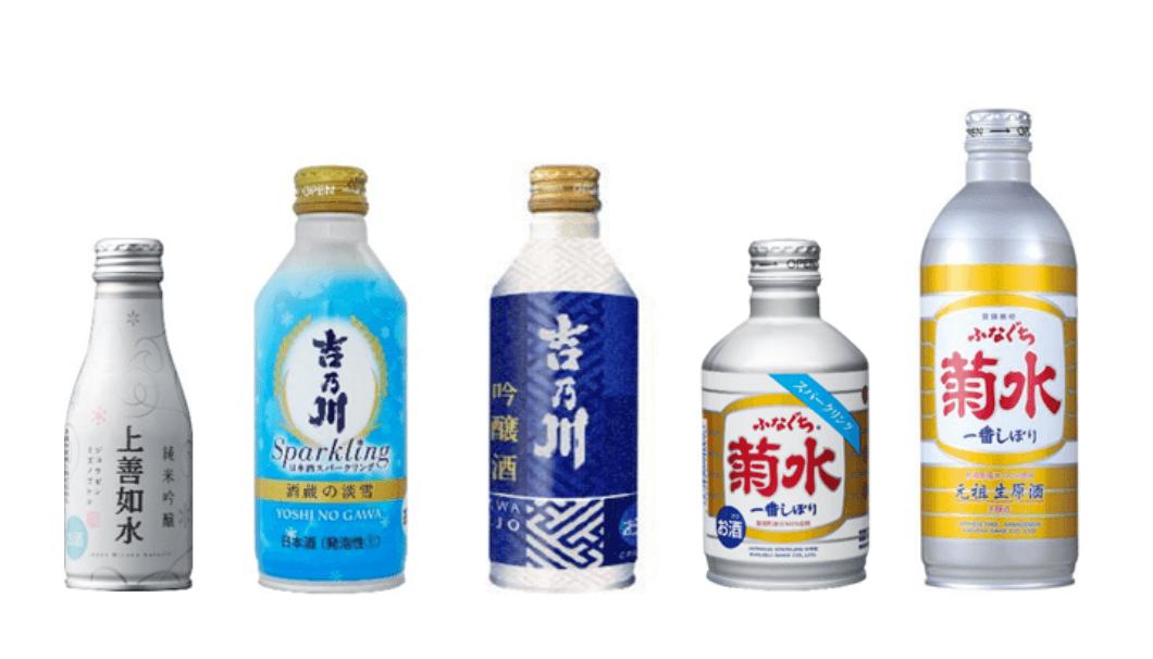 「CAN-PAI プロジェクト」で商品化された日本酒ボトル缶