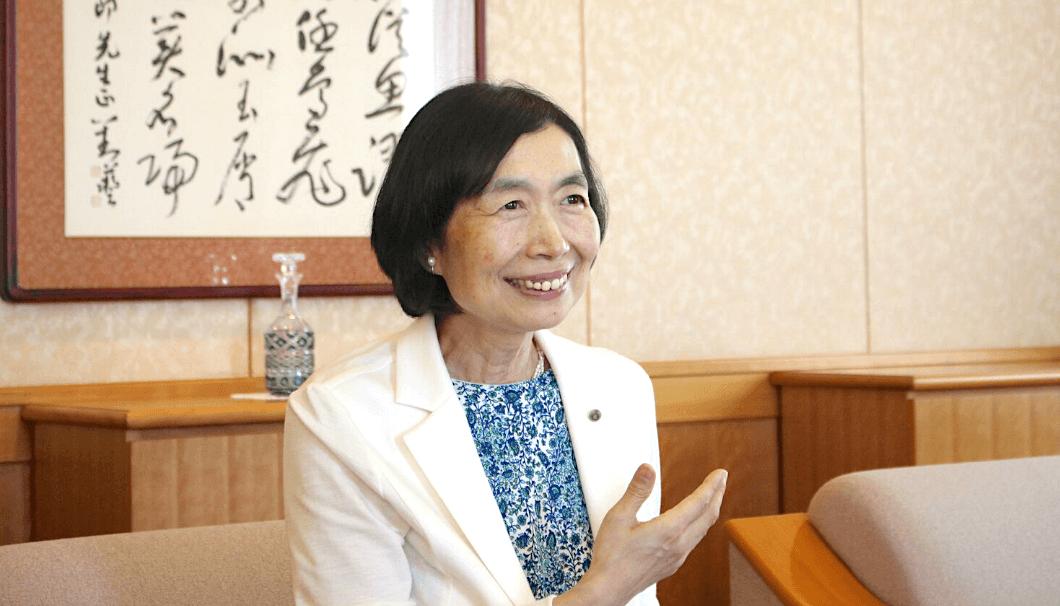 大関の代表取締役社長・長部訓子
