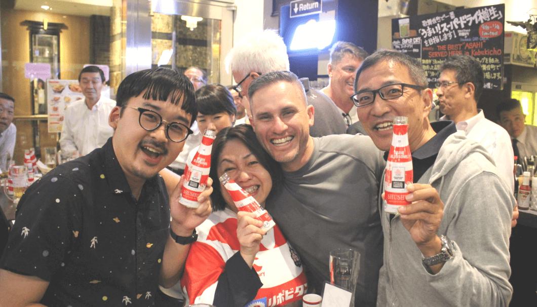 沢の鶴「SHUSHU」でラグビーW杯、日本を応援しよう!
