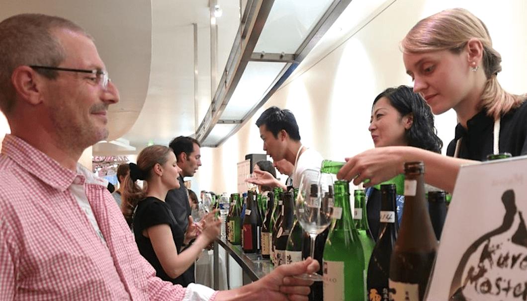パリ日本文化会館で開催された試飲会