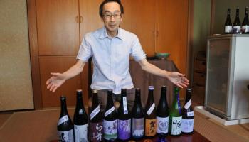 Sake芯店主・松尾伸二さん