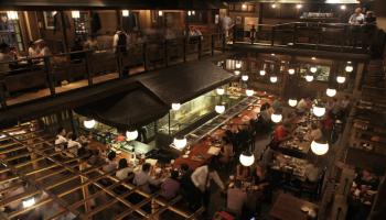 和食レストラン「権八 西麻布」(東京都港区)の内観写真