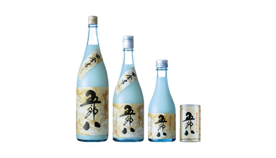 菊水から販売しているにごり酒「五郎八」