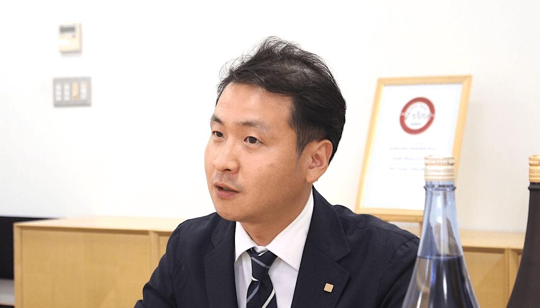 営業本部マーケティングマネージャーの渡邉大輔さん