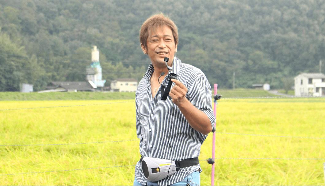 「吉田営農」の吉田将光さん