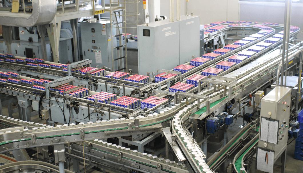 ワンカップ大関の生産ライン
