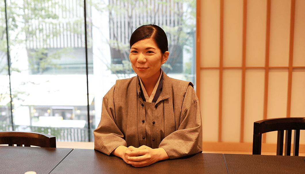 フロントマネージャー 駒井里美さん
